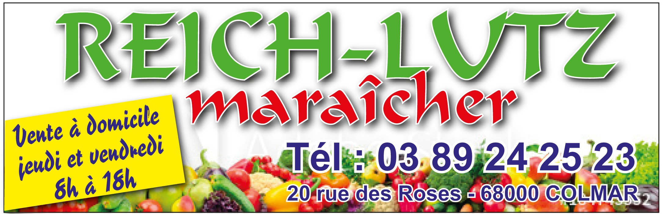 Panneau REICH-LUTZ Maraîcher
