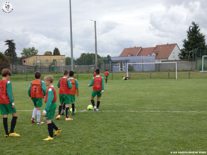 AS Andolsheim U 13 Amical ASA 1 Vs ASA 2 29082020 00053
