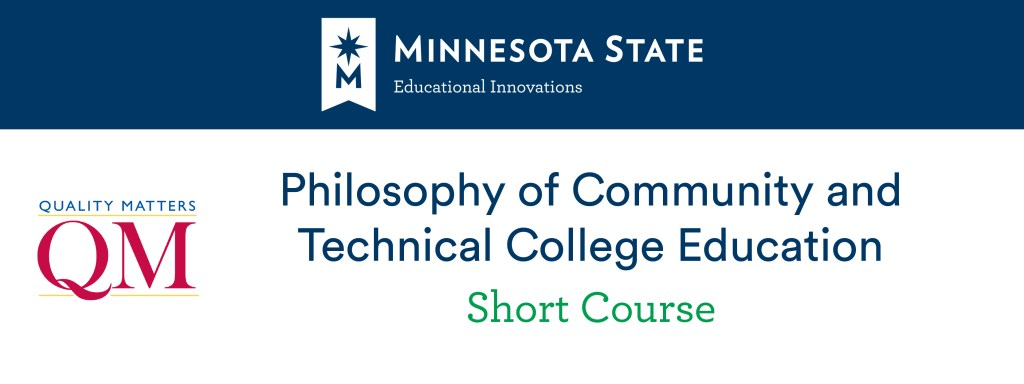 Philosophy of Community and Technical College Education