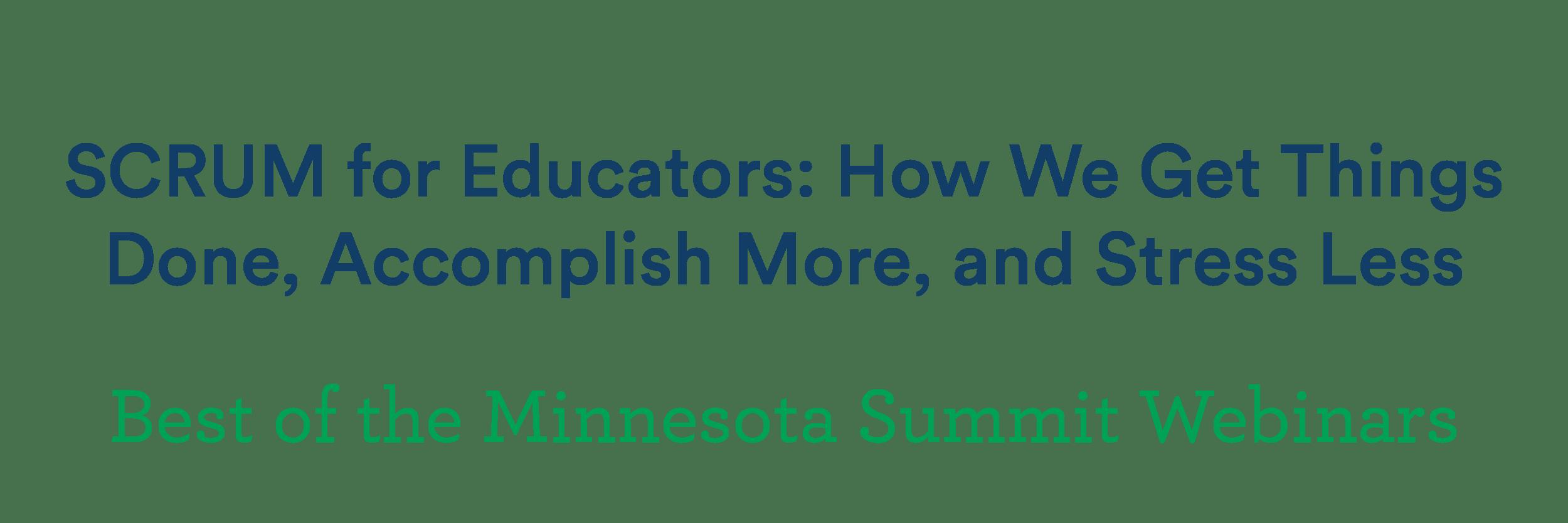 SCRUM-for-educators