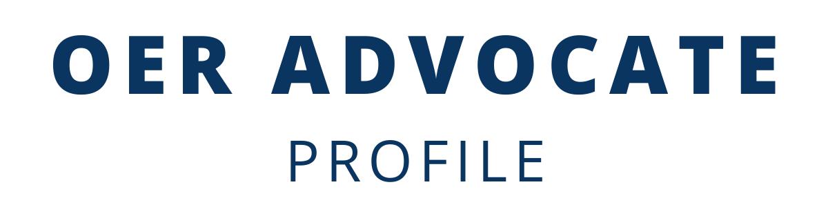OER Advocate Profile Banner