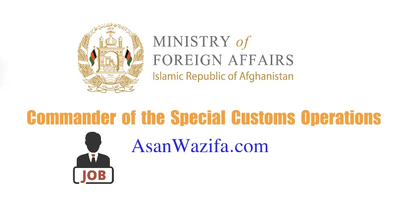 Commander of the Special Customs Operations Unit - Ministry of Finance