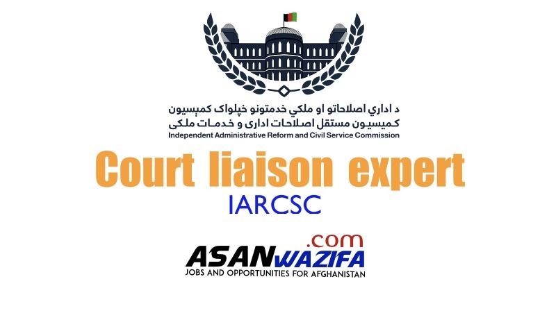 Court liaison expert - IARCSC