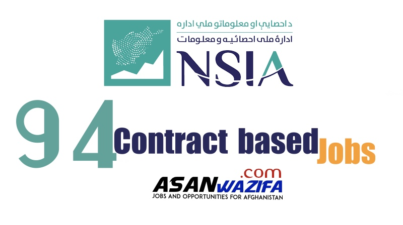 94 Jobs by NSIA ( Contract based ) Kabul