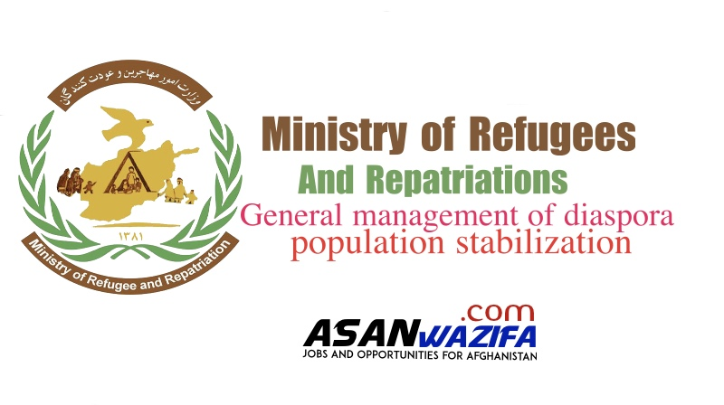 Ministry of Refugees and Repatriations ( General management of diaspora population stabilization )