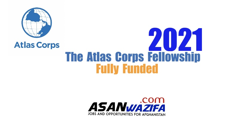 The Atlas Corps Fellowship 2021 | Fully Funded