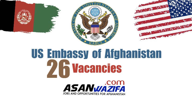 Jobs at the US Embassy of Afghanistan