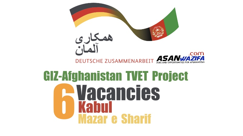 Trainer for Business Administration (from the private and public sector) GIZ-Afghanistan TVET Project
