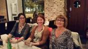 Middag på Eat med Erika Widell Svernström, Simone Reiche Nordström och Jeanette Palm