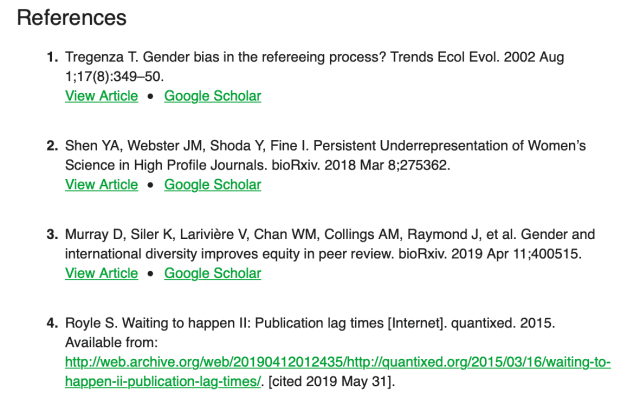 Giving credit where credit is due: how to cite preprints – ASAPbio