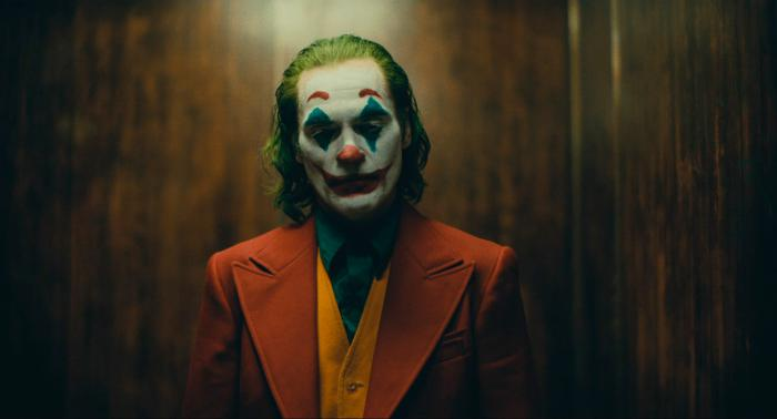 Capture of the teaser trailer from Joker