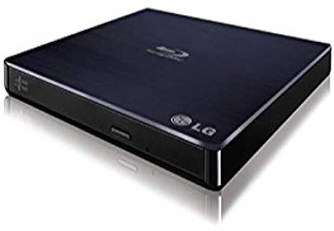 LG BP50NB40 6x Blu-ray Rewriter BD-RE-8x DVD±RW DL USB 2.0 Slim External Drive