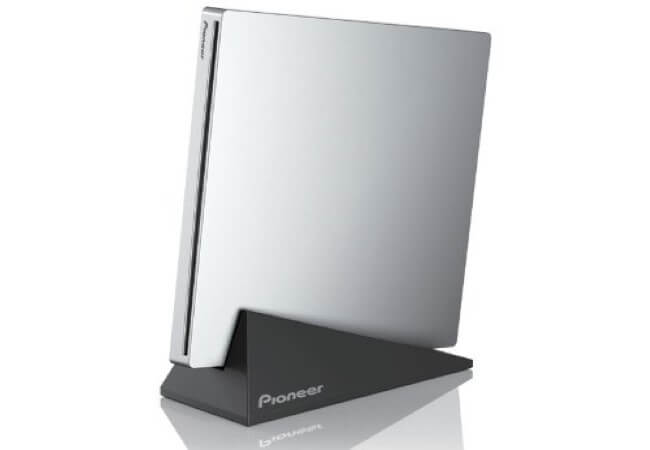 Pioneer Electronics USA Slim External Blu-Ray Writer (BDR-XU03)