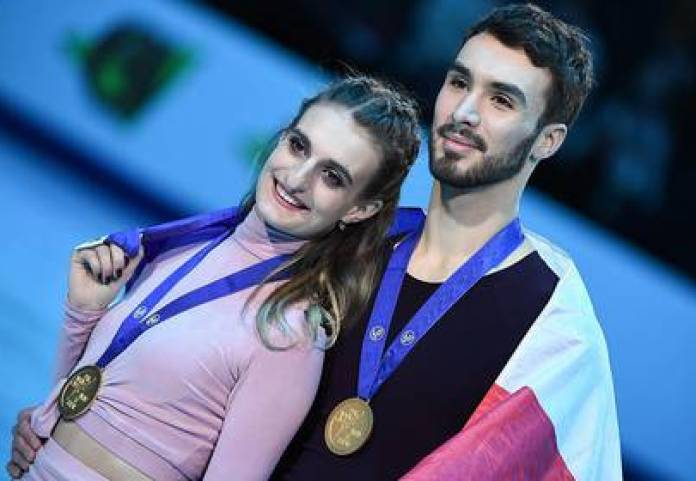 French skater Guillaume Cizeron publicly spoke of his sexual orientation for the first time