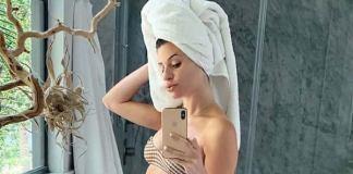 Lea Michele Shows Baby Bump