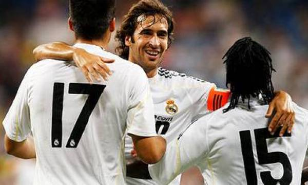 Raúl is one of the top scorers in the history of Real Madrid (Photo / EFE)