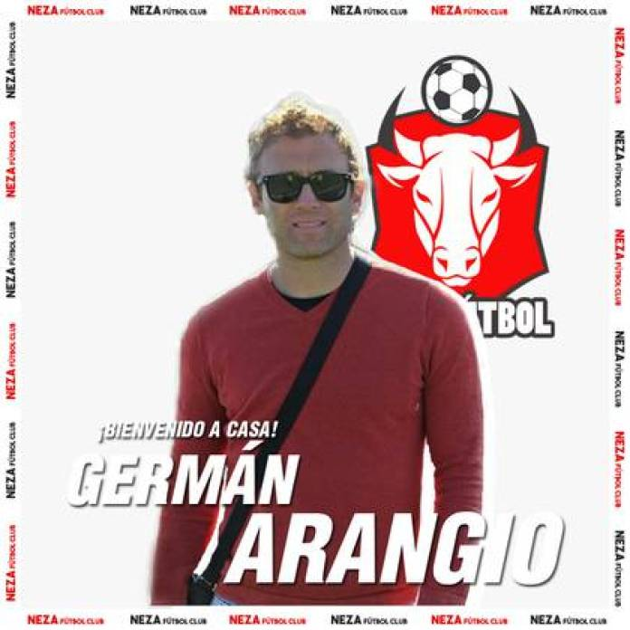 The Neza Fútbol Club squad will be under the command of Germán Arangio (Photo: Twitter @ NezaFutbol)