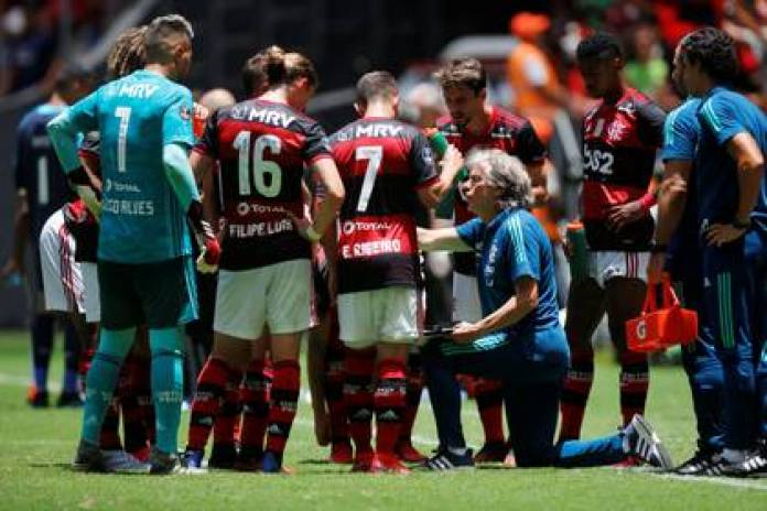 Jorge Jesus was champion of the Copa Libertadores in his first year as Flamengo coach - REUTERS / Adriano Machado