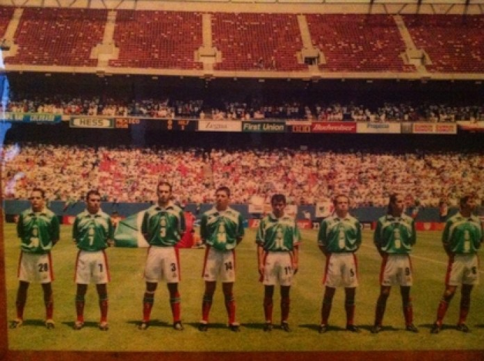 Mexico tied with Ireland, beat South Africa and lost to the United States (Photo: Facebook / Horacio Sánchez Aguirre)