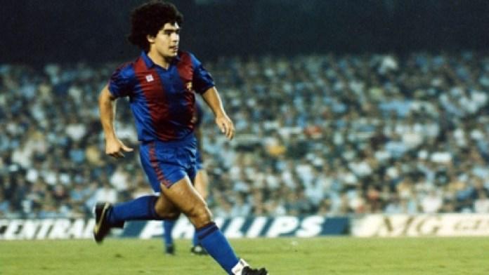 Maradona signed for FC Barcelona in 1982 (Barcelona FC)