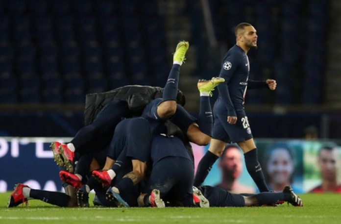 PSG managed to qualify for the quarterfinals after defeating Borussia Dortmund