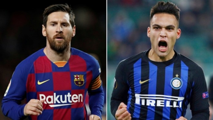 Martínez's dream is to play with Lionel Messi at FC Barcelona