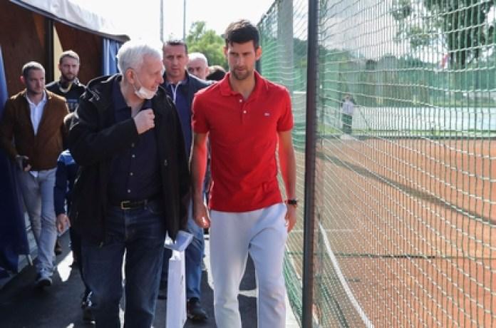 Novak Djokovic organizes a tennis tournament called Adria Tour (REUTERS)
