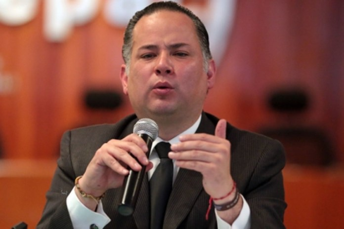 Santiago Nieto Castillo, UIF head, spoke about the cooperation agreement with Liga MX (Photo: Cuartoscuro)
