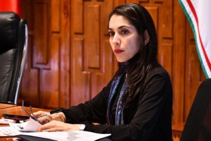 Verónica Hernández Giadáns is the prosecutor of the state of Veracruz (Photo: Twitter @FGE_Veracruz)