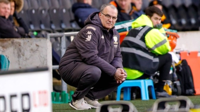 Leeds United of Argentina's Marcelo Bielsa returns to competition in England's second division (Shutterstock)