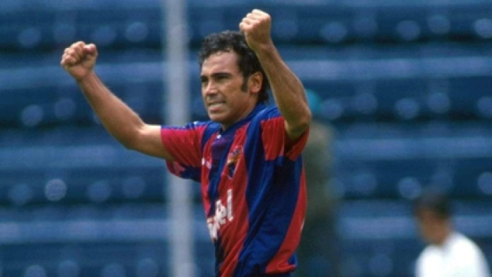 Hugo played for Atlante in the 1994-1995 season, where he scored 13 goals in 31 games (Photo: Special)