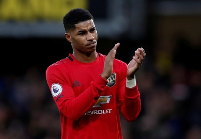 Marcus Rashford, a young Manchester United footballer, managed to change a British government policy with an emotional letter and a campaign for the poorest (Reuters)