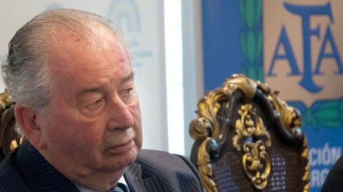 Julio Humberto Grondona chaired the AFA for 35 years and died in office in July 2014 (NA)