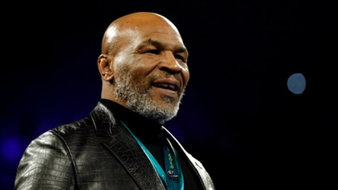 Mike Tyson has joined the protests over the death of George Floyd in the United States (REUTERS)