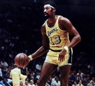 Wilt Chamberlain, one of the NBA's first African-American offensive stars