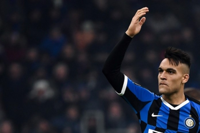 The Argentine Lautaro Martínez is the great objective of Barcelona for the next season (AFP)