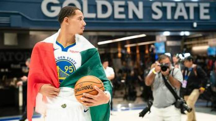 Toscano joined the Warriors in 2019; He also played with Mexico in the 2014 Basketball World Cup in Spain (Photo: File)