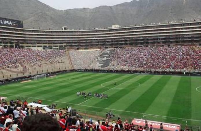 Illustrative file photo of the Monumental Stadium in Lima. Nov 23, 2019 REUTERS / Henry Romero