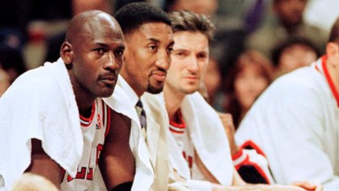 Michael Jordan and Scottie Pippen together won 6 NBA rings: 1991, 1992, 1993, 1996, 1997 and 1998 (Reuters)