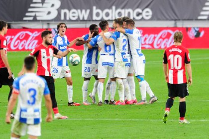 Javier Aguirre and Leganés returned to perform a feat by beating Athletic Bilbao 0-2 (Photo: Juan Echeverria / LaLiga)