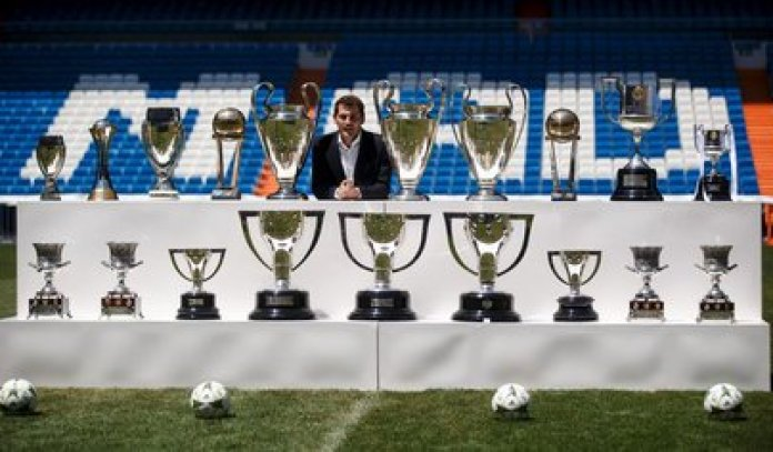 Casillas became a historical figure of Real Madrid - REUTERS / Andrea Comas