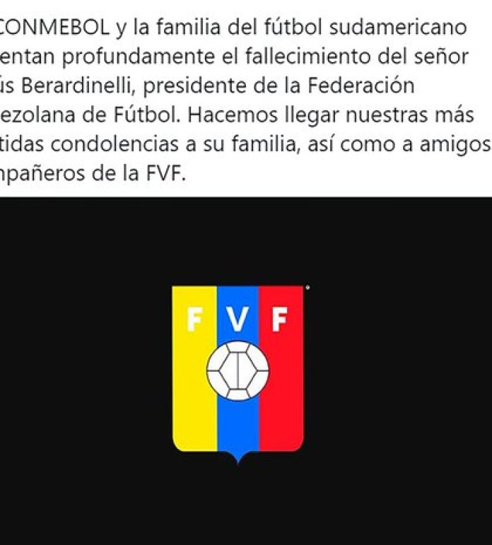 The publication of the Conmebol