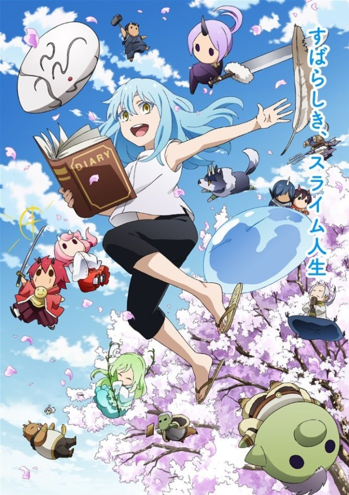 Shiba The Slime Diaries: That Time I Got Reincarnated as a Slime (Tensura Nikki Tensei Shitara Slime Datta Ken) noticias de animes 2021