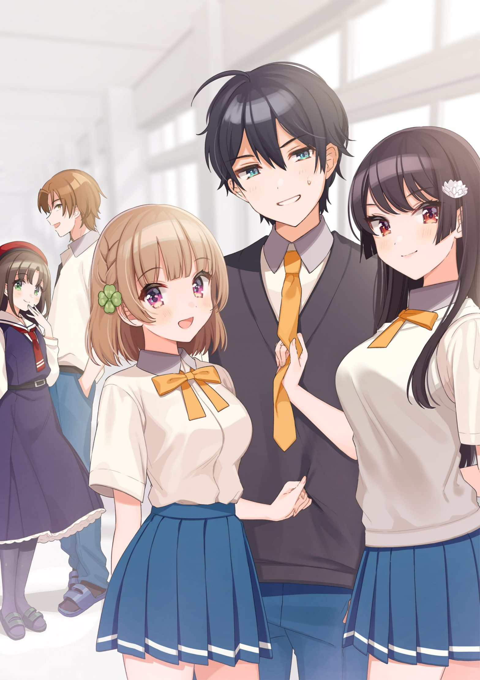 Osananajimi ga Zettai ni Makenai Love Come anime coming in 2021 - anime news - anime premieres next year - anime recommendations
