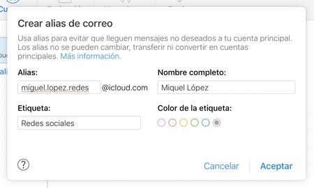 Icloud Mail Alias Apple Options