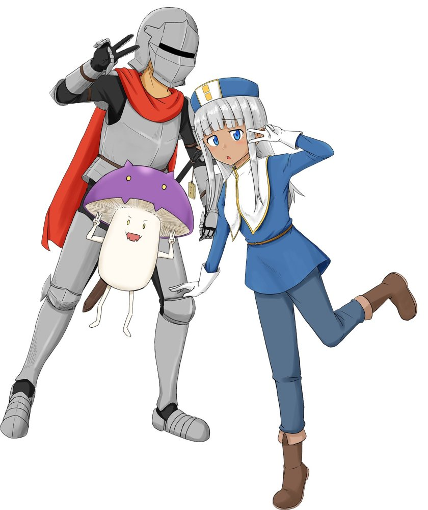 The animated adaptation of the Kono Healer Mendokusai manga is confirmed - anime news - anime premieres 2022 - ver anime online isekai