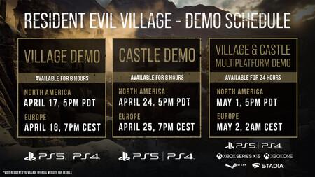 RE village demo