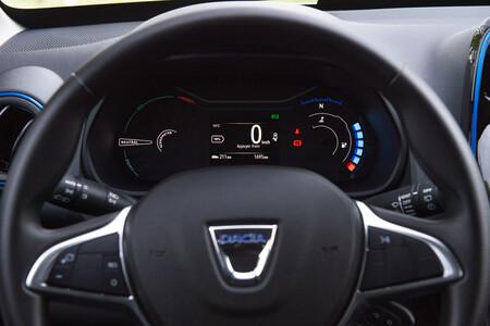 Dacia Spring frame