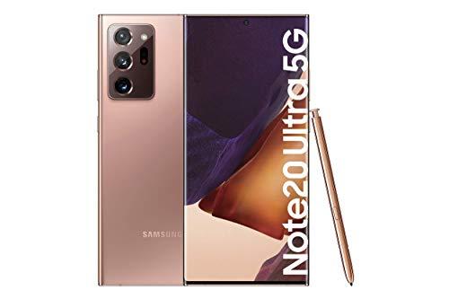 """Samsung Galaxy Note20 Ultra 5G Smartphone Android Libre de 6.9"""" 512GB Mystic Bronze [Versión española]"""