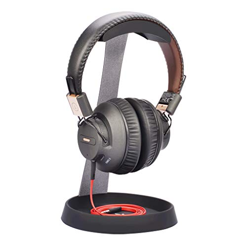 Avantree Headphone Holder HS102 - Universal Metal and Silicone Headphone Holder with Cable Support Tray, valid for Sony, Bose, Shure, Jabra, JBL, AKG, Gaming and Screen Headphones